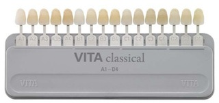 picture regarding Tooth Shade Chart Printable named Vita Clic Colour Expert