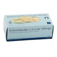 Schottlander LA Low Allergy – Powder Free – Examination Gloves