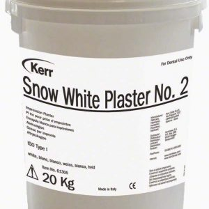 Kerr Snow White Plaster No.2 Type I