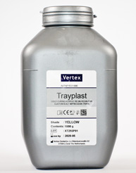 Vertex Trayplast -Powder Yellow