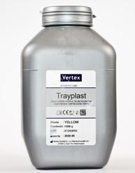 Vertex Trayplast -Powder Yellow