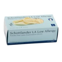 Schottlander LA Low Allergy – Powder Free – Examination Gloves