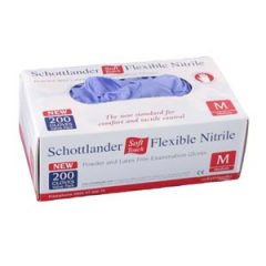 Schottlander –  Soft Touch – Flexible Nitrile Gloves – Blue