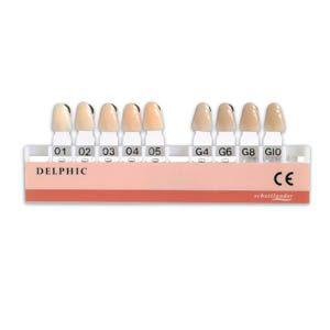 Delphic Shade Guide